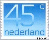 Nederland NL 1112a  1976 Cijfer type 'Crouwel' 45 cent  Postfris