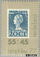 Nederland NL 1138  1977 Postzegeltentoonstelling Amphilex '77 55+45 cent  Gestempeld