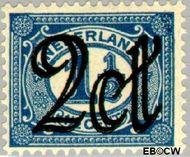 Nederland NL 115  1923 Opruimingsuitgifte 2#1½ cent  Gestempeld