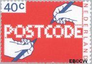 Nederland NL 1151  1978 Invoering postcode 40 cent  Postfris