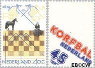 Nederland NL 1159#1160  1978 Sporten  cent  Gestempeld