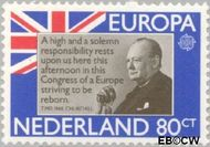 Nederland NL 1208  1980 C.E.P.T.- Bekende personen 80 cent  Gestempeld