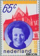Nederland NL 1215#  1980 Koningin Beatrix- Inhuldiging  cent  Gestempeld