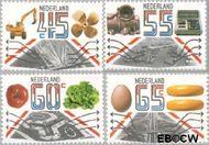 Nederland NL 1228#1231  1981 Export  cent  Gestempeld