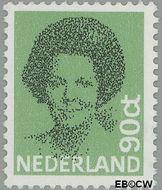 Nederland NL 1240  1982 Koningin Beatrix- Type 'Struycken' 90 cent  Gestempeld