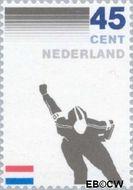 Nederland NL 1261#  1982 Kon. Ned. Schaatsrijders Bond  cent  Postfris