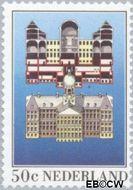 Nederland NL 1273  1982 Paleis op de Dam 50 cent  Gestempeld