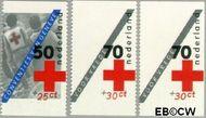 Nederland NL 1293a#1293c  1983 Rode Kruis- doelstellingen  cent  Gestempeld