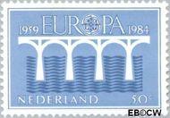 Nederland NL 1307  1984 C.E.P.T.- Brug 50 cent  Gestempeld