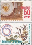 Nederland NL 1322#1323  1985 Toerisme  cent  Gestempeld