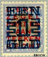 Nederland NL 133  1923 Opruimingsuitgifte 100#17½ cent  Gestempeld