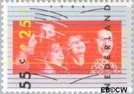 Nederland NL 1363  1986 Beleven 55+25 cent  Gestempeld