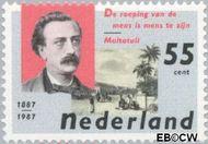 Nederland NL 1370  1987 Dekker, Eduard Douwes 55 cent  Gestempeld