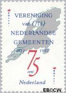 Nederland NL 1385#  1987 Vereniging Ned. Gemeenten  cent  Gestempeld