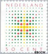 Nederland NL 1394  1987 Fonkelende ster 50 cent  Gestempeld