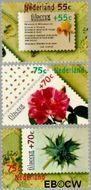 Nederland NL 1396#1398  1988 Postzegeltentoonstelling Filacept  cent  Gestempeld