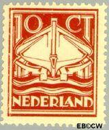 Nederland NL 140  1924 Ned. Reddingmaatschappij 10 cent  Gestempeld