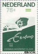 Nederland NL 1412  1988 Erasmus Universiteit 75 cent  Postfris