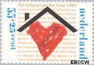 Nederland NL 1435  1989 Rechten Kind 55+25 cent  Gestempeld