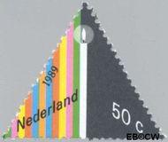 Nederland NL 1439#  1989 Gereduceerd tarief  cent  Gestempeld