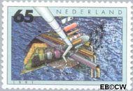 Nederland NL 1463  1991 Milieu 65 cent  Gestempeld