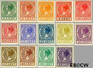 Nederland NL 149#162  1924 Koningin Wilhelmina- Type 'Veth'   cent  Postfris