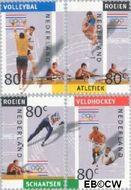 Nederland NL 1517a#1517d  1992 Olympische Spelen- Albertville  cent  Gestempeld