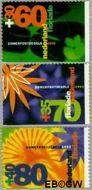 Nederland NL 1524a#1524c  1992 Floriade  cent  Gestempeld