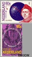 Nederland NL 1527#1528  1992 C.E.P.T.- Ontdekking Amerika  cent  Gestempeld