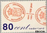 Nederland NL 1551  1993 Kon.Notariële Broederschap 80 cent  Gestempeld