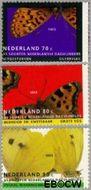 Nederland NL 1553#1555  1993 Natuur en milieu  cent  Gestempeld