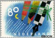 Nederland NL 1571  1993 Tien voor uw brieven 80 cent  Gestempeld
