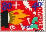 Nederland NL 1577  1993 Kind en media 80+40 cent  Postfris