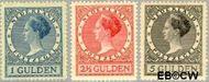 Nederland NL 163#165  1926 Koningin Wilhelmina- Type 'Veth'   cent  Gestempeld