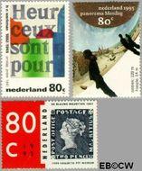 Nederland NL 1631#1633  1995 Diversen  cent  Gestempeld