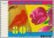Nederland NL 1669  1996 Voorjaarsbloemen 80 cent  Gestempeld
