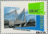 Nederland NL 1689  1996 Nederland, waterland 80 cent  Gestempeld