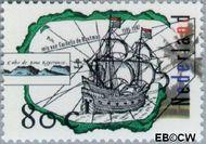 Nederland NL 1696  1996 Ontdekkingsreizen 80 cent  Gestempeld