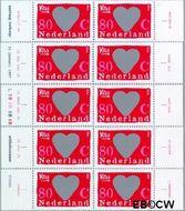 Nederland NL 1709a#1709j  1997 Kraszegels  cent  Gestempeld