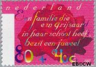 Nederland NL 1717  1997 Ouderen 80+40 cent  Postfris