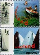 Nederland NL 1727#1728  1997 Holland Promotion  cent  Gestempeld