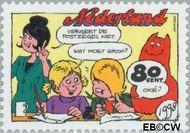 Nederland NL 1782a  1998 Strippostzegels Jan Jans 80 cent  Gestempeld