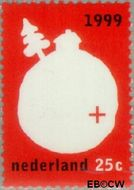 Nederland NL 1808  1999 Het Kwartje 25 cent  Gestempeld