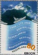 Nederland NL 1822  1999 Nederland, waterland 80 cent  Gestempeld