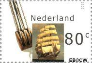 Nederland NL 1909  2000 Sail 2000 80 cent  Gestempeld