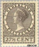 Nederland NL 193  1928 Koningin Wilhelmina- Type 'Veth' 27½ cent  Gestempeld