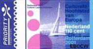 Nederland NL 1967#  2001 Rotterdam culturele hoofdstad  cent  Gestempeld