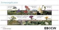 Nederland NL 1973  2001 Tuinen in Nederland  cent  Gestempeld