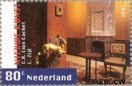 Nederland NL 1983  2001 Nieuwe kunst 80 cent  Gestempeld