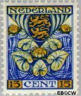Nederland NL 202  1932 Provinciewapens 15+3 cent  Gestempeld
